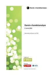 Dansk e-handelsanalyse fra 3. kvartal 2010. - FDIH