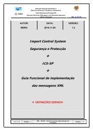 Guia de Implementação de Mensagens XML - Portal das Finanças