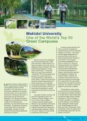 Mahidol University No.1 in Thailand in the GreenMetric Rankings - Page 3