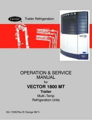 vector 6600mt multi temp advance micro - Sunbelt Transport
