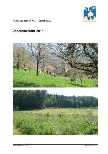 Jahresbericht 2011 - KLAS Seetal