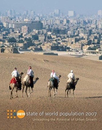 state of world population 2007 - UNFPA