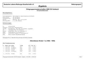 PDF-Datei - DLRG Ortsgruppe Sulzbach