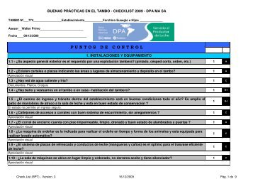 Checklist BPT 774