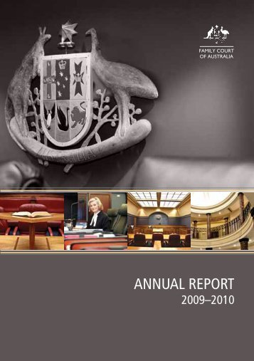 AnnuAl RepoRt - Family Court of Australia