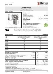 KBU8A ... KBU8M - Produktinfo.conrad.com