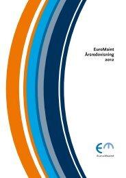 EuroMaint Årsredovisning 2012 - EuroMaint Rail