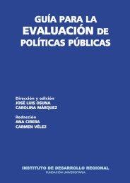 Guía para la Evaluación de Políticas Públicas - CLAD