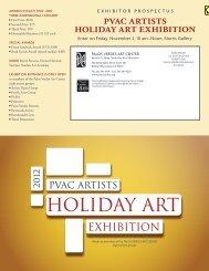 pvac artists holiday art exhibition - Palos Verdes Art Center