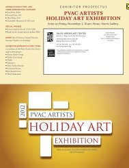 pvac artists holiday art exhibition - Palos Verdes Art Center