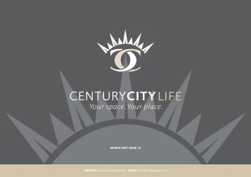 01 March 2007 Newsletter - Century City