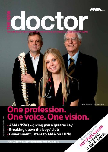 One profession. One voice. One vision. - Australian Medical ...