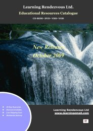 New Releases - October 2009 - Learningemall.com