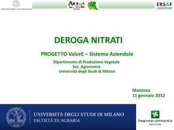 Simulazioni aziende bovini da latte (Lodovico Alfieri, Andrea ... - Ersaf