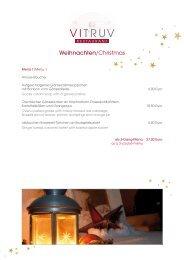 Weihnachtsmenüs - Leonardo Hotels