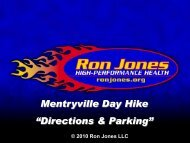 """Mentryville Day Hike """"Directions & Parking"""" - RonJones.Org"""
