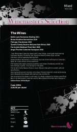 Winemaster's Selection March 2012 - Mixed - The Wine Society