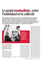 Le projet mutualiste, entre l'individuel et le collectif - Ligue des droits ...