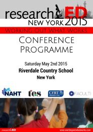 RED New York Programme Web