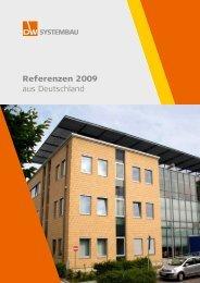Referenzen 2009 aus Deutschland - DW Systembau GmbH