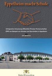 Eppelheim macht Schule (PDF) - ÖPP-Plattform, Öffentlich Private ...