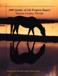 2005 Quality of Life Progress Report - Ocala / Marion County ...
