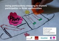 Using participatory mapping to explore participation in three