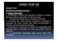 Parecer enviado pelo Prof. Sandro - Fernando Santiago dos Santos