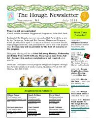 Hough Newsletter July 2013.pub (Read-Only) - City of Vancouver