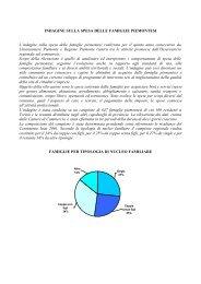 Indagine sulla spesa delle famiglie piemontesi - Camere di ...