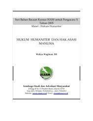 HUKUM HUMANITER DAN HAK ASASI MANUSIA - Elsam