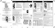 Serie VN - Instrucciones de Uso - Olympus
