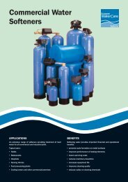 Commercial Water Softeners - CESA
