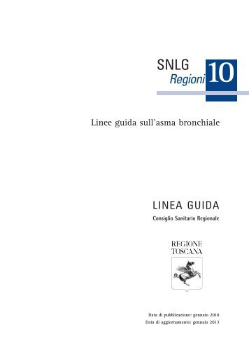 Regioni - Sistema Nazionale Linee Guida