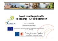 Lokal handlingsplan för bioenergi – Alvesta kommun - Energikontor ...