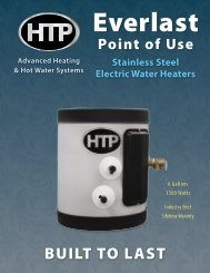 Introducing the Everlast All Stainless Steel Water Heater design with ...