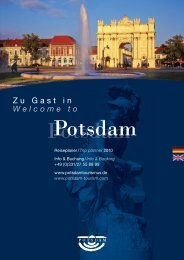 Zu Gast in Welcome to - Potsdam