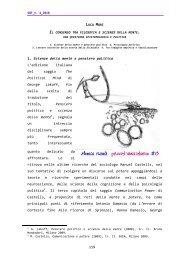 119 1. Scienze della mente e pensiero politico L'edizione italiana ...