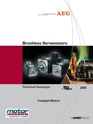 CATALOGO FIERA - Motor Technology Ltd