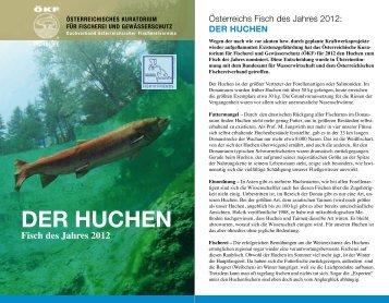 DER HUCHEN - Österreichisches Kuratorium für Fischerei ...