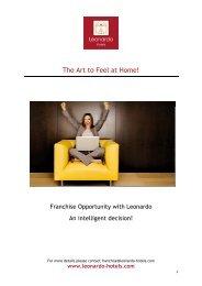 Leonardo Hotels Franchise
