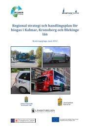 Regional strategi för biogas i Sydost Remissupplaga - Energikontor ...