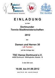 EINLADUNG zu den Dortmunder Tennis-Stadtmeisterschaften 2012 ...