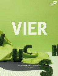 PDF-Version VIER05 (10 Mb) - VIER - Hochschule für Künste Bremen