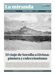 El viaje de Sorolla a Eivissa: pintura y coleccionismo - Diario de Ibiza