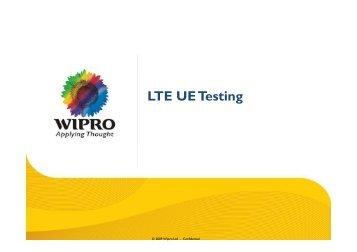 TTCN-3 in LTE UE Testing
