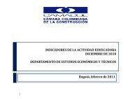 Cifras Coordenada Urbana Diciembre 2010.pdf - Camacol