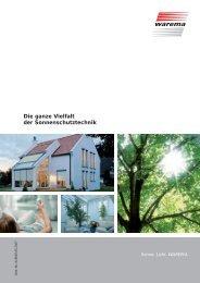 WAREMA Sonnenschutztechnik