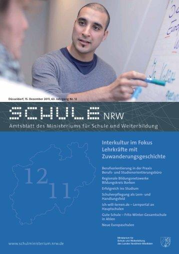 Interkultur im Fokus Lehrkräfte mit Zuwanderungs ... - schul-welt.de