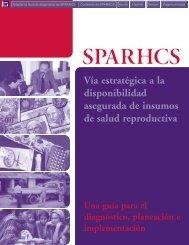 SPARHCS Vía estratégica a la disponibilidad ... - POLICY Project